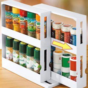 Smart rotate storage Shelf