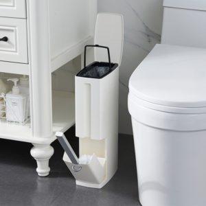 4 in 1 bathroom trash can with waste bin