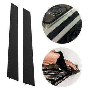 2Pcs/Set Flexible Kitchen Stove Counter Gaped Cover Silicone