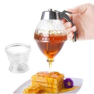 Crystal Honey Dispenser and Warmer