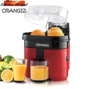 ORANGIZ – Electric Double citrus press with orange cut