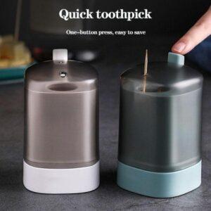 Hand Pressure Toothpick Box