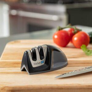 Knife Sharpener Kitchen Sharpener With Comfortable Non-Slip Grip