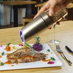 Salt and Pepper Shakers & Grinder